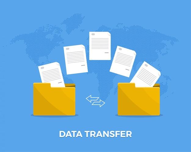 Data overdracht