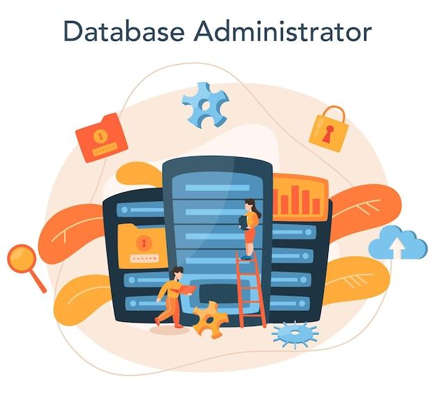 Database beheerder concept