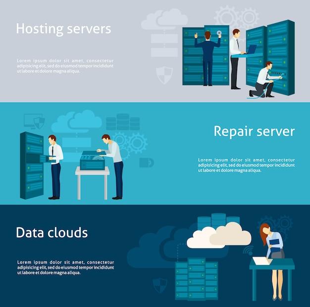 Datacenter-bannerset