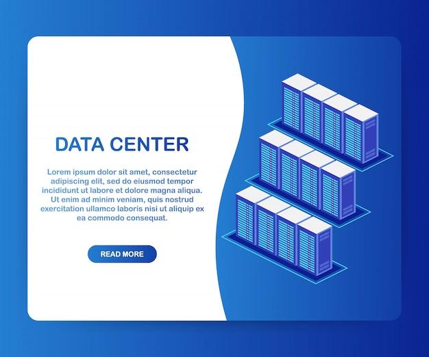 Datacenter cloudverbinding hosting server computerinformatie database synchroniseer technologie. .