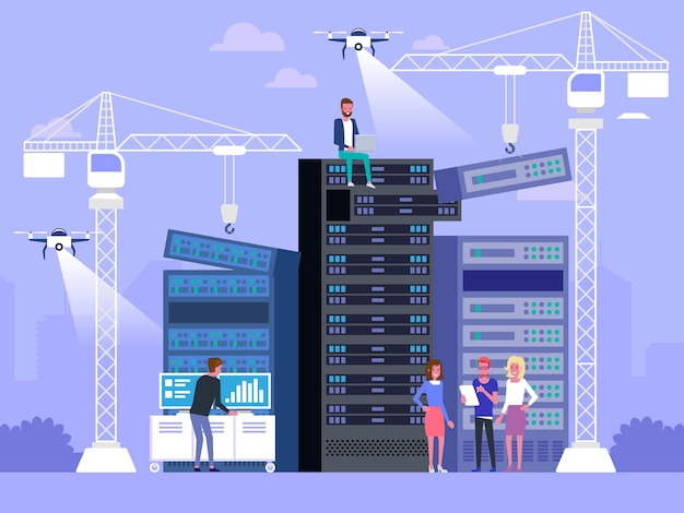 Datacenter concept