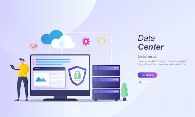Datacenter of cloud computing