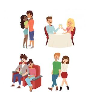 Dating paar set.