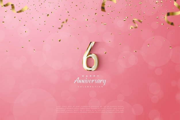 De 6e verjaardag.