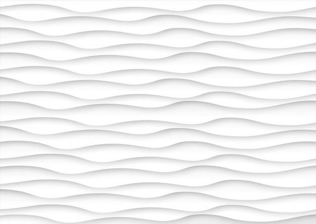 De abstracte achtergrond van de golf witte en grijze toon