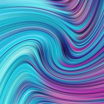 De abstracte blauwe achtergrond van golflijnen