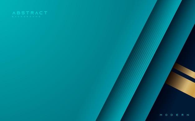 De abstracte blauwe achtergrond van overlappingslagen