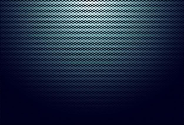 De abstracte donkerblauwe achtergrond van de stoffentextuur