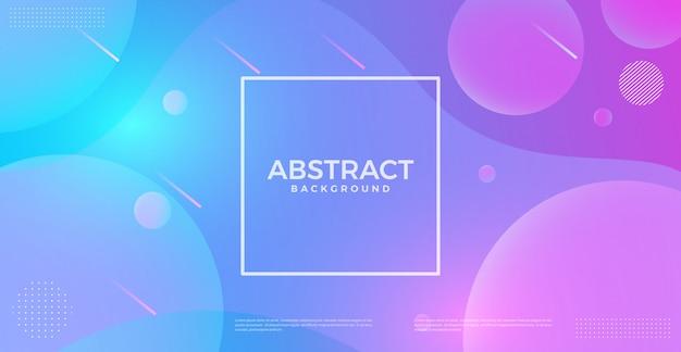 De abstracte dynamische achtergrond van de krommelijnen van de stroom vloeibare golf. ontwerpsjabloon