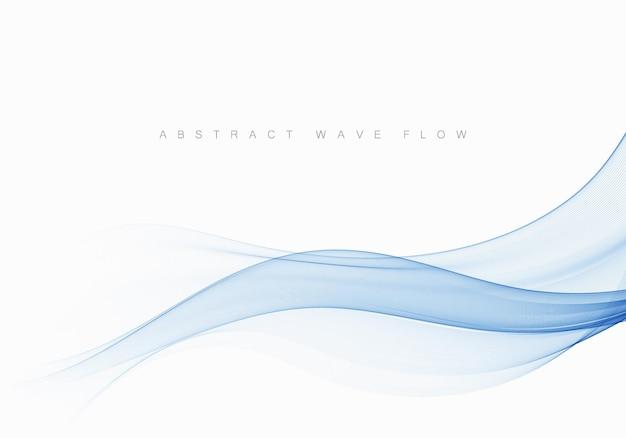 De abstracte elegante achtergrond van swooshgolflijnen