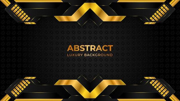 De abstracte gouden halftone achtergrond van de patroonluxe