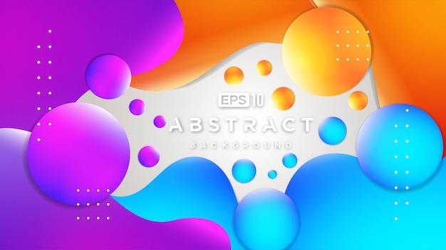 De abstracte kleurrijke 3d stroom vormt achtergrond