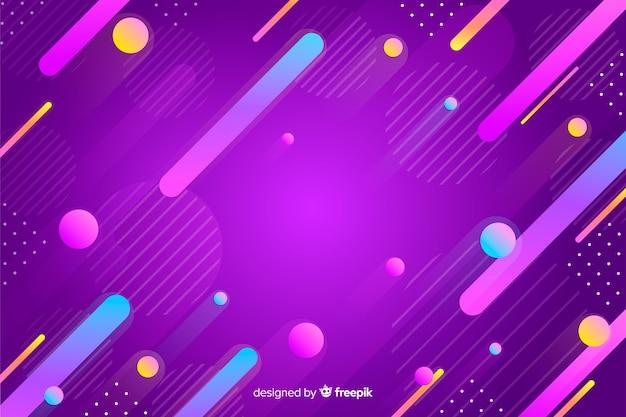 De abstracte kleurrijke achtergrond van gradiëntvormen