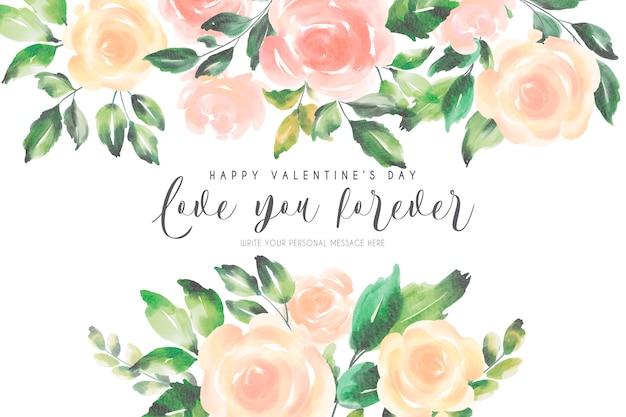 De achtergrond van romantisch valentine met zachte aard