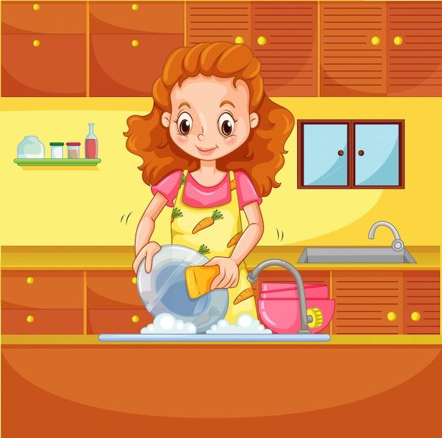 De afwas doen