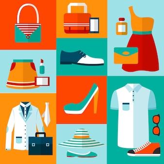 De artikelen van de kleding