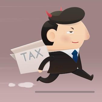 De belastingfraude van politici
