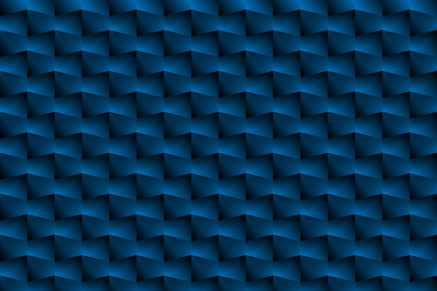 De blauwe doos is een patroon als een abstracte achtergrond.