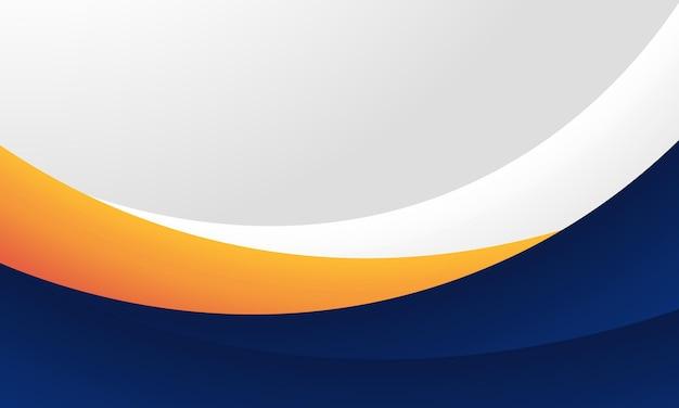 De blauwe, gele en grijze achtergrond van de gradiëntkromme. beste ontwerp voor poster, spandoek.