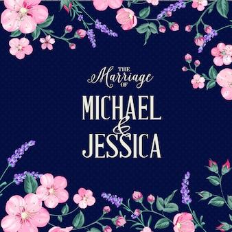 De bruiloft uitnodiging