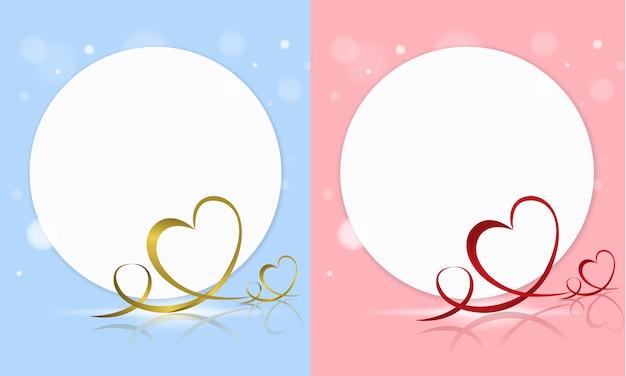 De dagkaart van de gelukkige valentijnskaart
