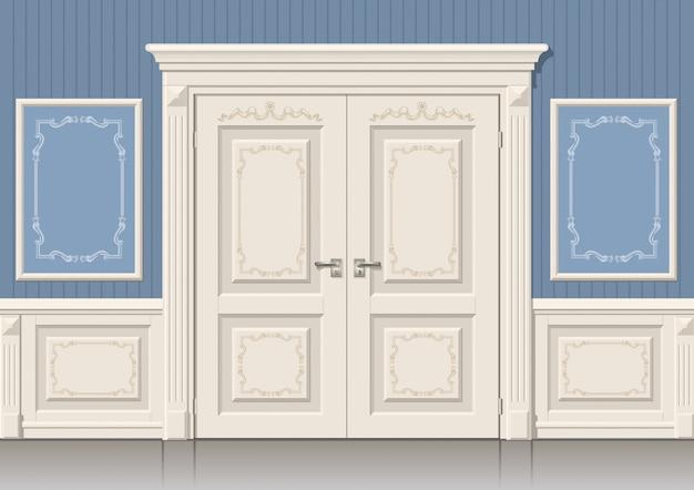 De deurpanelen en klassiek