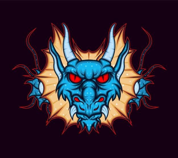 De drakenkop
