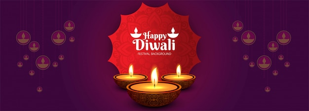 De gelukkige hindoese hindoese decoratieve achtergrond van de festivalbanner