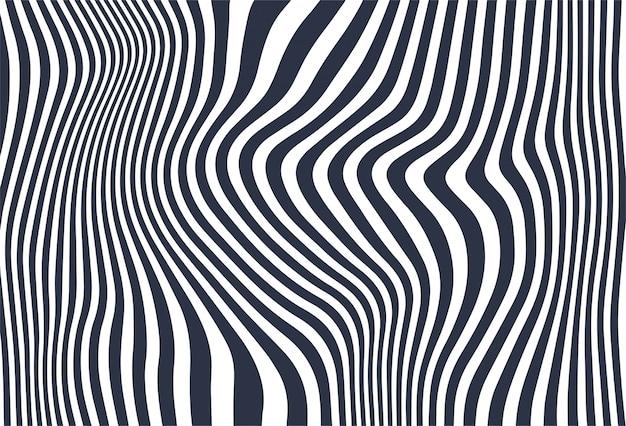 De golfachtergrond van zigzag diagonale lijnen