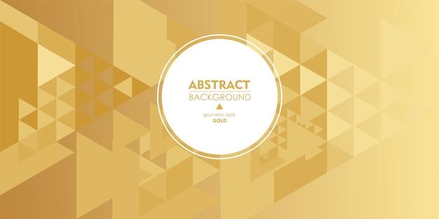 De honing gouden achtergrond van het elegantie abstracte patroon.