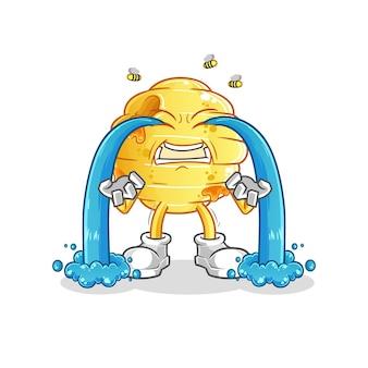 De honingraat huilt