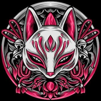 De kitsune en ornamenten