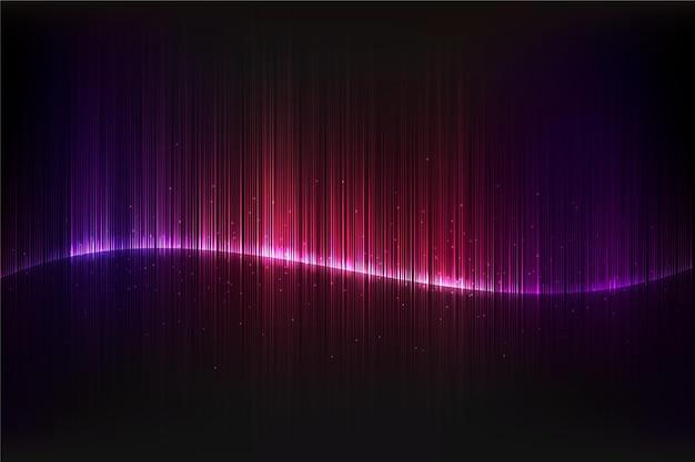 De kleurrijke gradiënt steekt achtergrond aan