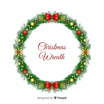 De kroon van kerstmis met snoep stokken achtergrond