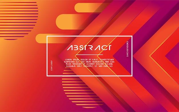 De moderne abstracte 3d achtergrond van de driehoeksgradiënt