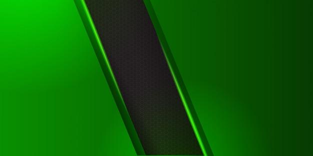 De moderne groene samenvatting van de webkopbal.