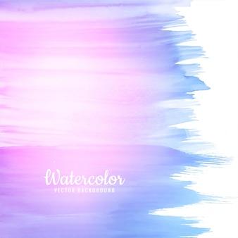 De moderne kleurrijke hand trekt waterverfachtergrond