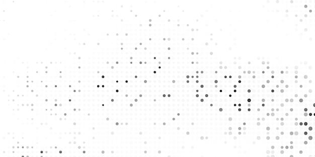 De moderne witte en grijze illustratie van achtergrondontwerpideeën