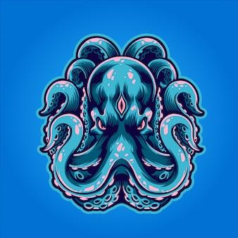 De mythische octopus