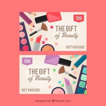 De omzet in schoonheidsproducten
