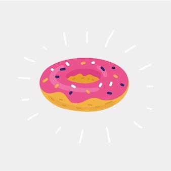 De opblaasbare cirkel donuts