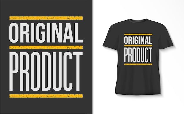 De originele t-shirt van de producttypografie
