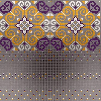 De patronen van de lelijke trui van de oma