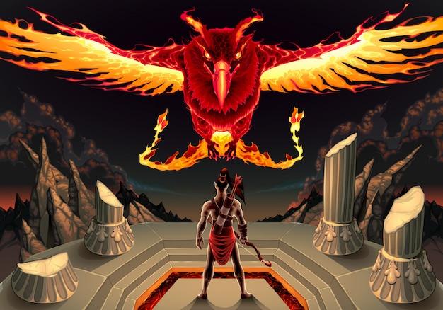 De phoenix en de man