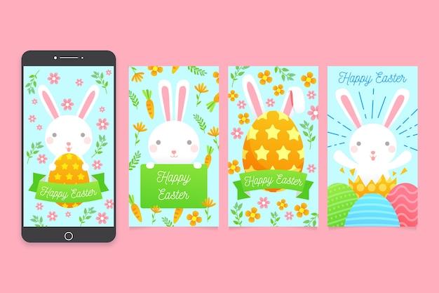 De pluizige inzameling van konijntjes instagram pasen