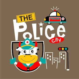 De politie stad