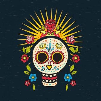 De poster van day of the dead,
