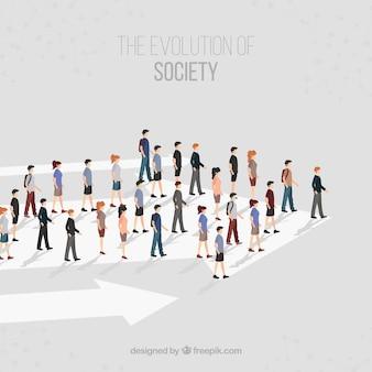 De richting van de samenleving