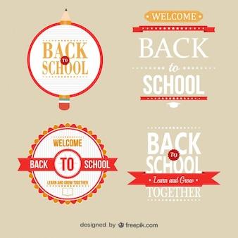 De school badge templates gratis
