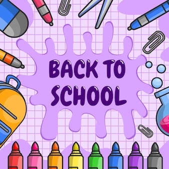 De school heeft het semester geopend. studenten zijn teruggekeerd om vakken als kunst, sport, wiskunde en wetenschap te studeren.